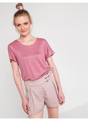 Love'n Fashion Paris Tişört Fuşya